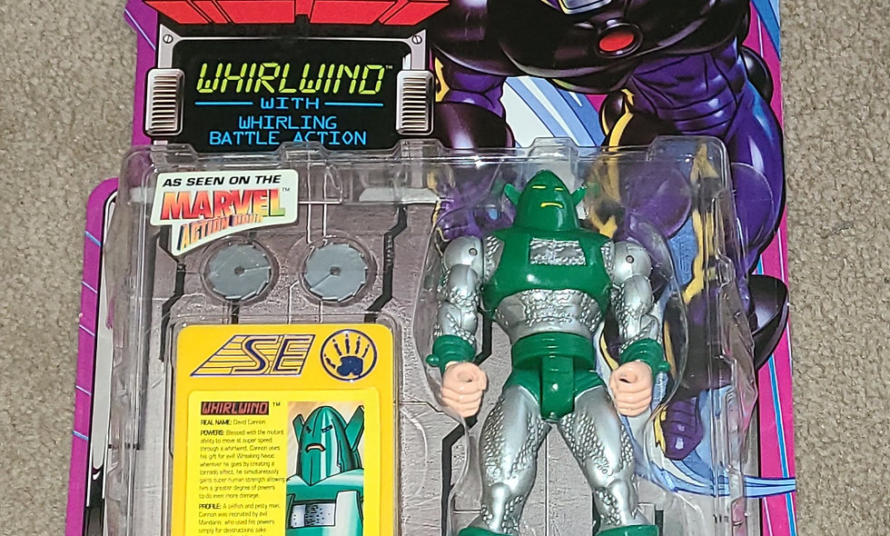 Marvel : Whirlwind : Iron Man : ToyBiz 1995