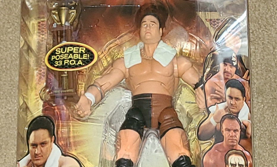 TNA : Samoa Joe - 2006 Marvel Toys