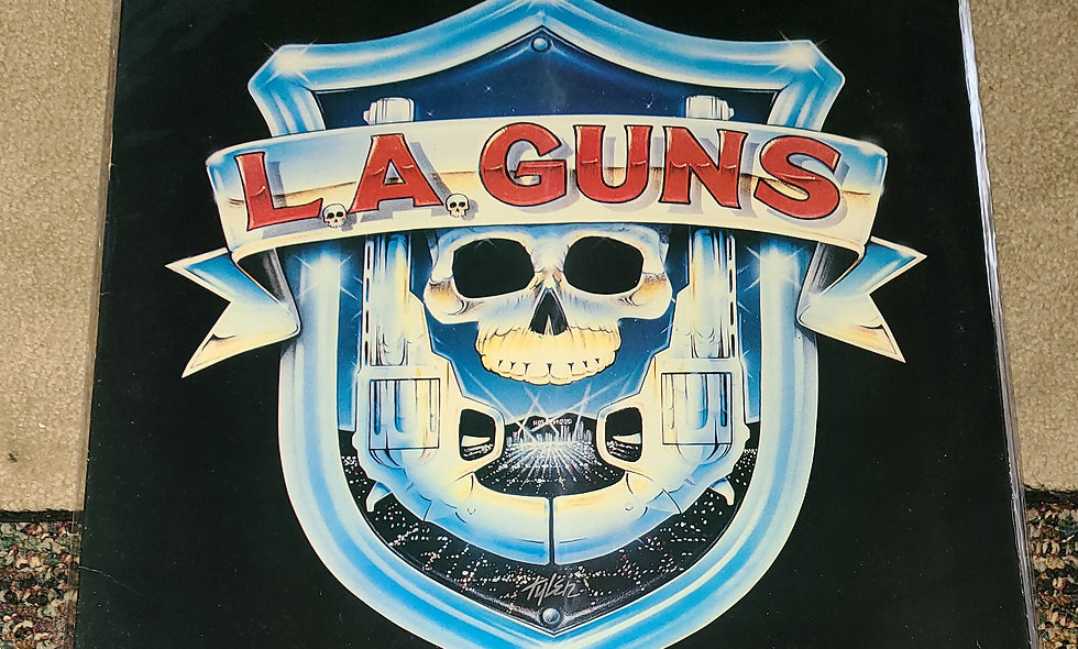L.A. Guns : L.A. Guns - Polygram / 1988 / VG / Metal