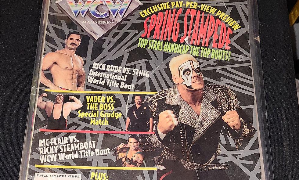 WCW Magazine : June 1994