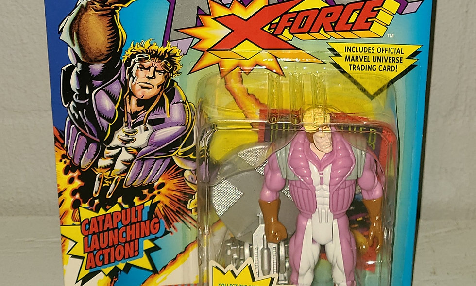 X-Men - X-Force - Cannonball - 1993 Toy Biz