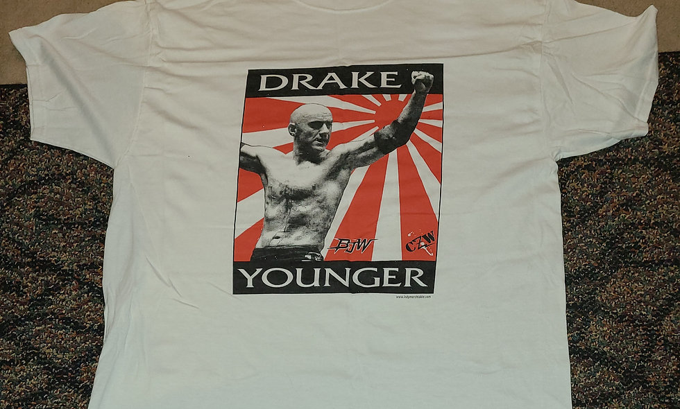 CZW BJW - Drake Younger T-Shirt - *NEW Size XL