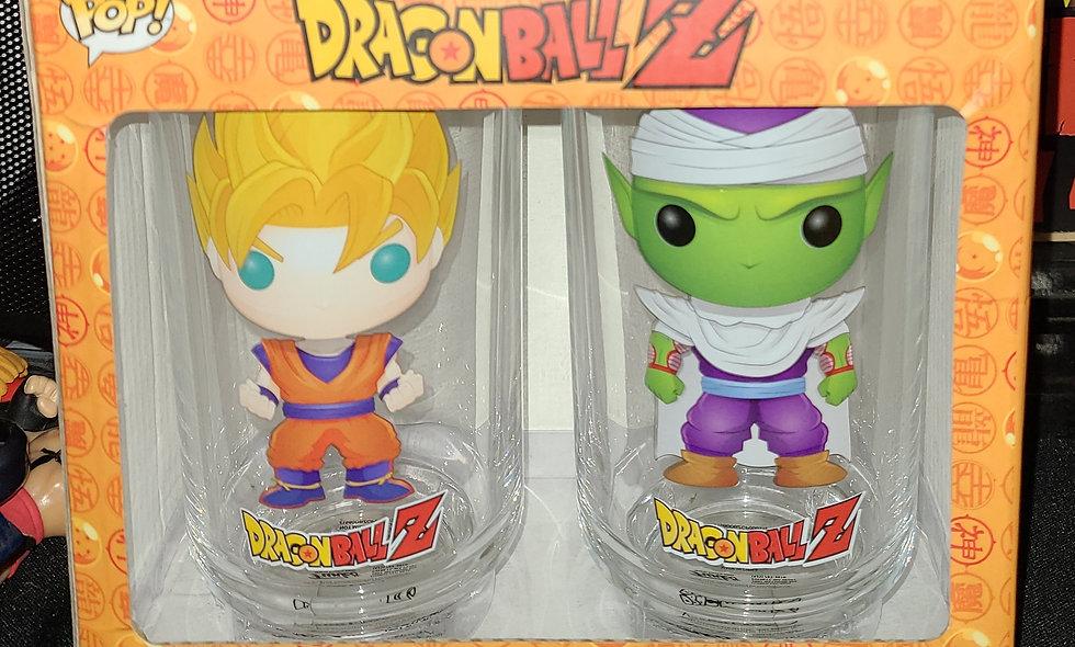 Funko Pop : Dragon Ball Z : Goku & Piccolo - Drinking Glass Set
