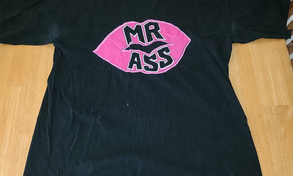 *Preowned  - Mr Ass (Pink) T-Shirt Size XL
