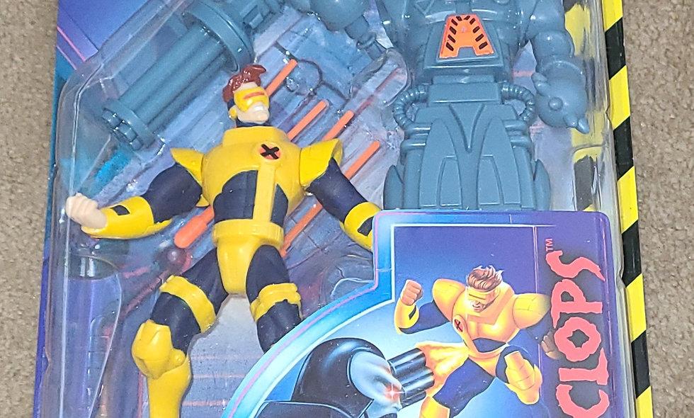 Marvel : Cyclops : Xmen Robot Fighters : ToyBiz 1997