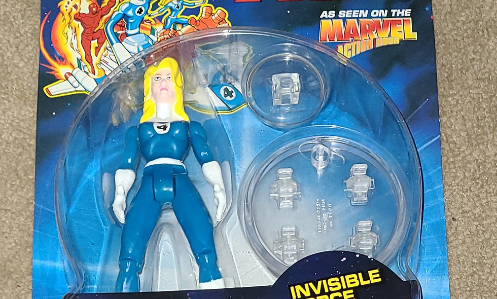 Marvel : Invisible Woman : Fantastic Four : ToyBiz 1994