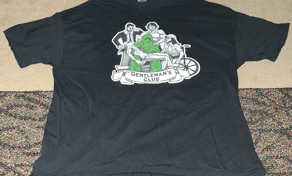 The Gentleman's Club - 2x T-Shirt New - Drew Gulak Orange Cassidy Chuckie T ...