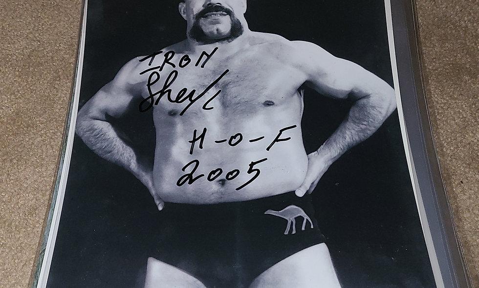 Iron Sheik - WWE / WWF - Autographed 8×10