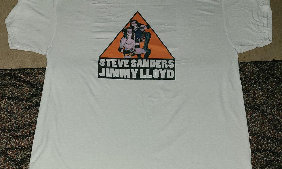 Jimmy Lloyd & Steve Sanders - T-Shirt New