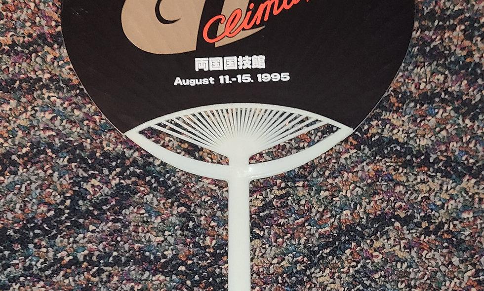 NJPW - G1 Climax 1995 - Hand Fan