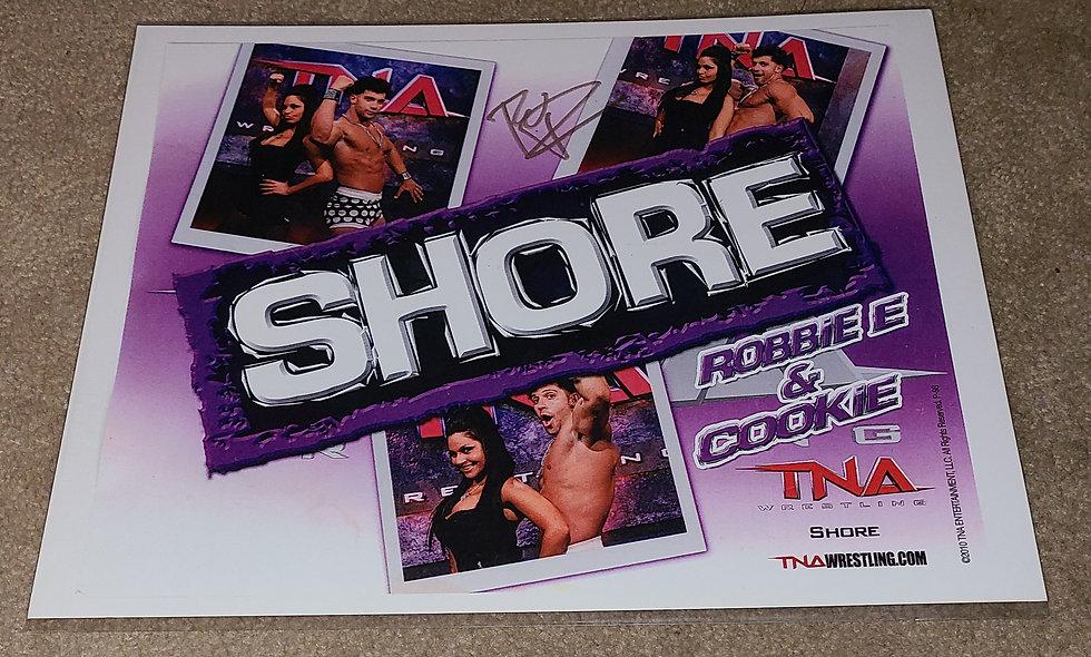 Robbie E - TNA / WWE - Autographed 8.5×11
