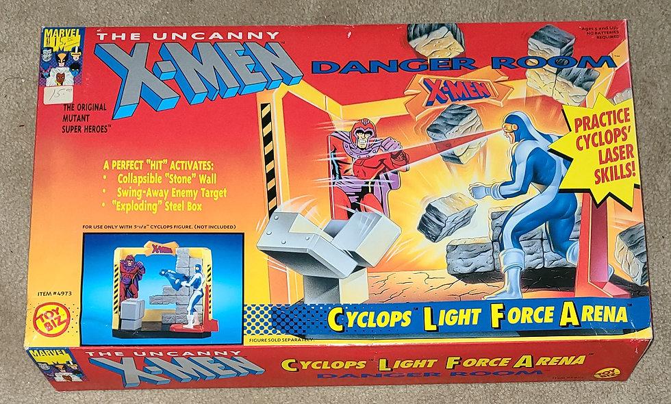 Marvel : Xmen Danger Room : Cyclops Light Force Arena : ToyBiz
