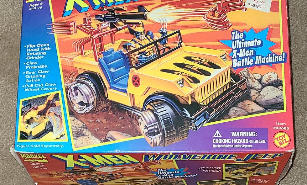 Marvel : Wolverine Jeep : Xmen : ToyBiz 1995