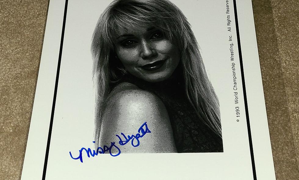 Missy Hyatt - WCW - Autographed 8×10