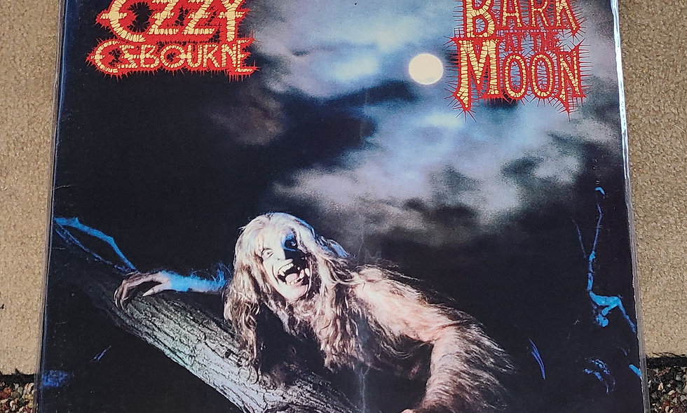Ozzy Osbourne : Bark At The Moon - CBS / 1983 / Good / Metal