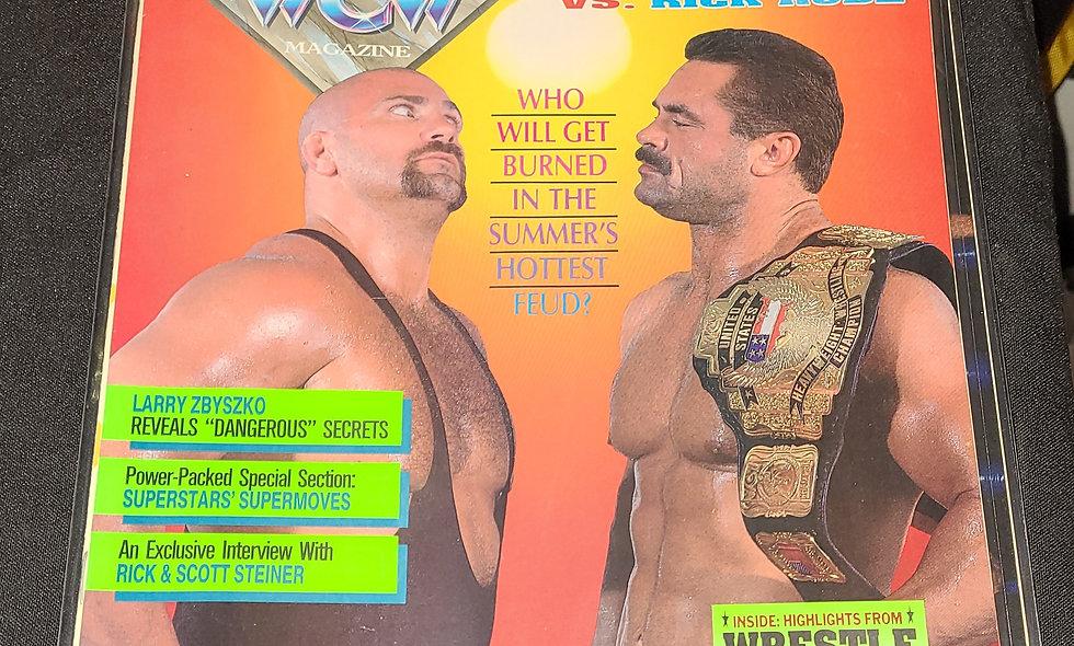 WCW Magazine  :  September 1992