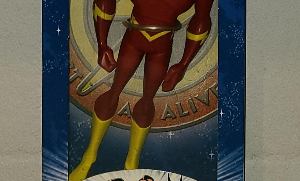 """Justice League - Flash (Cracked Bubble) - 10"""" Figure - 2003 Mattel"""