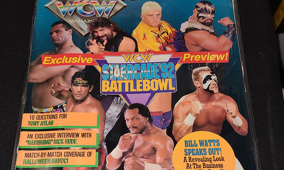WCW Magazine : February 1993