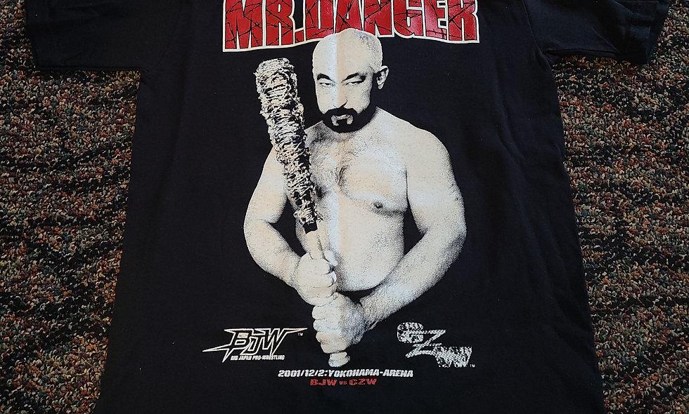 """BJW / CZW - """"Mr. Danger"""" Mitsuhiro Matsunaga - NEW Small - 2001 Japanese Import"""