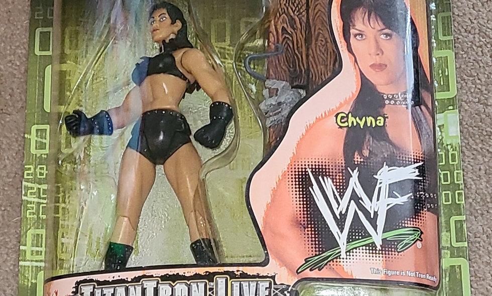 WWF : Wrestlemania 2000 : Titan Tron Live : Chyna : Series 3 - Jakks  1999