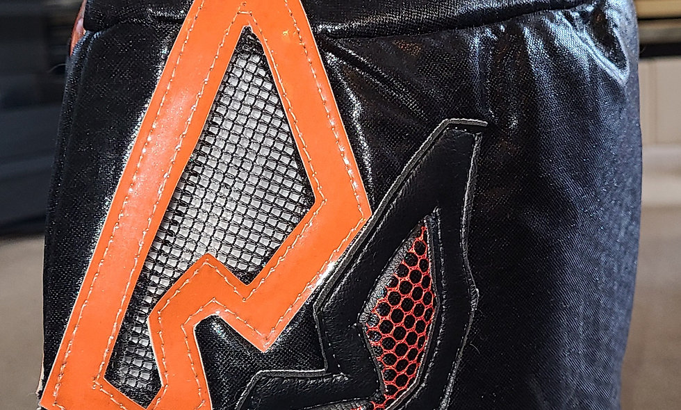 Hallowicked - Autographed Lucha Mask  : Chikara Shop