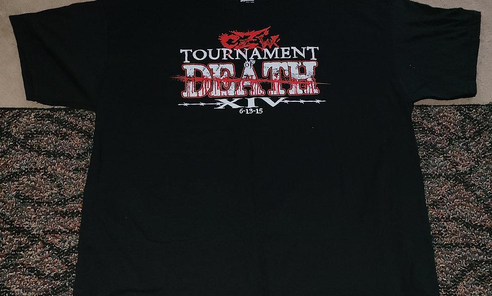 CZW : Tournament Of Death 14 : 6/13/15 - 2x T-Shirt New - Event Shirt