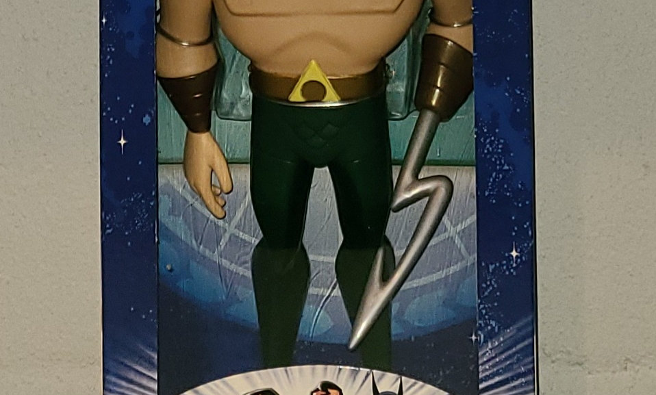"Justice League - Aquaman - 10"" Figure - 2003 Mattel"