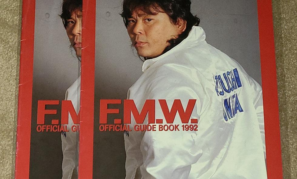 FMW - Official Guide Book 1992 - Deathmatch Wrestling Onita