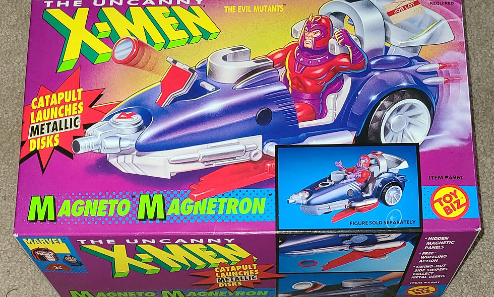Marvel : Magneto Magnetron : Xmen : ToyBiz