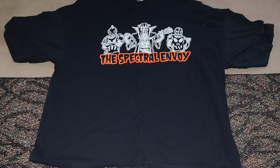 The Spectral Envoy - 2x T-Shirt New - Hallowicked Ultramantis Black Frightmare