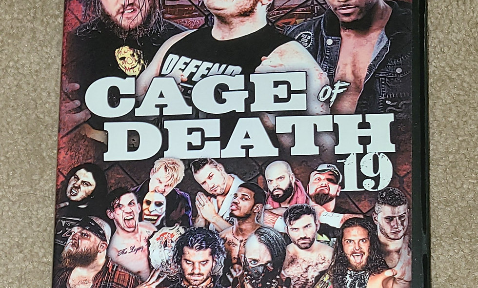 CZW - Cage Of Death 19 : 12/9/17 - Deathmatch DVD