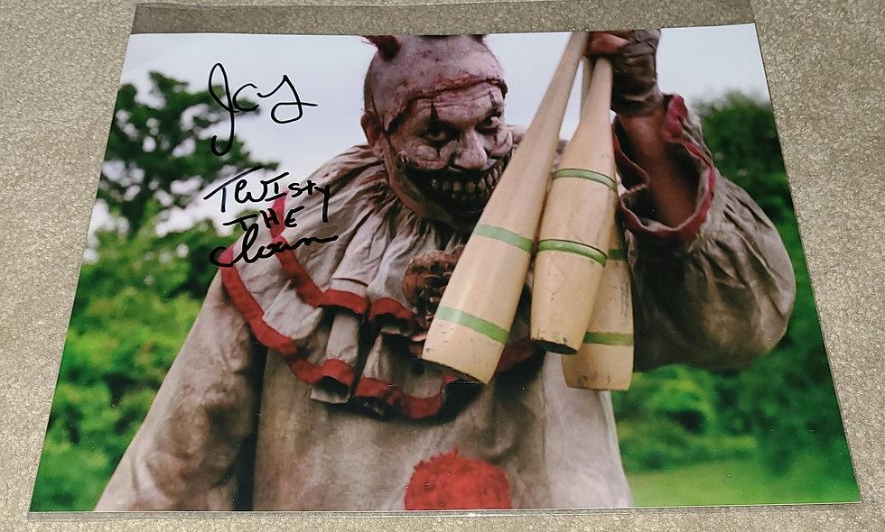 Twisty The Clown aka JOHN CARROLL LYNCH - American Horror Story - Autographed