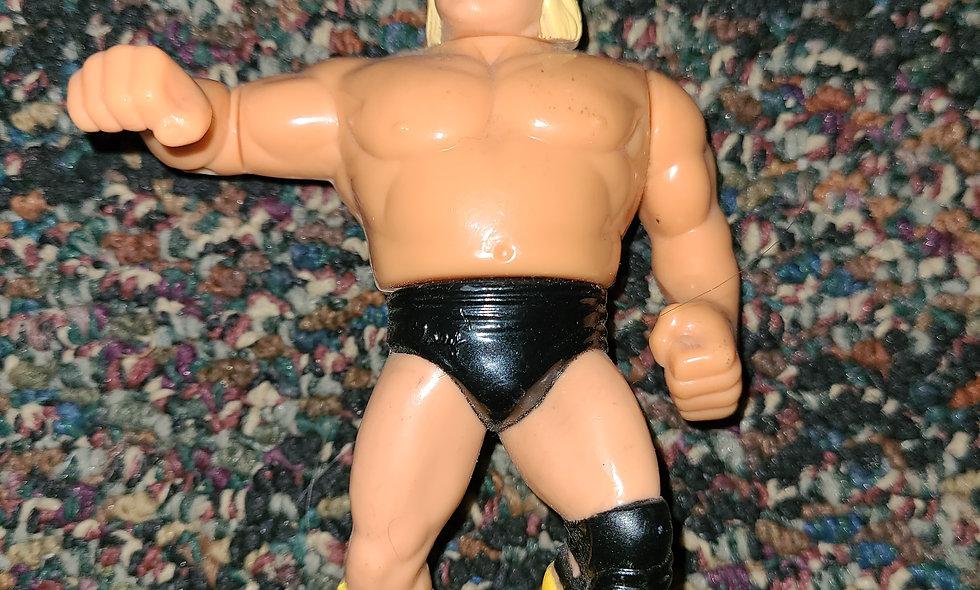 WWF Hasbro  - Greg The Hammer Valentine  - Action Figure *Action Works