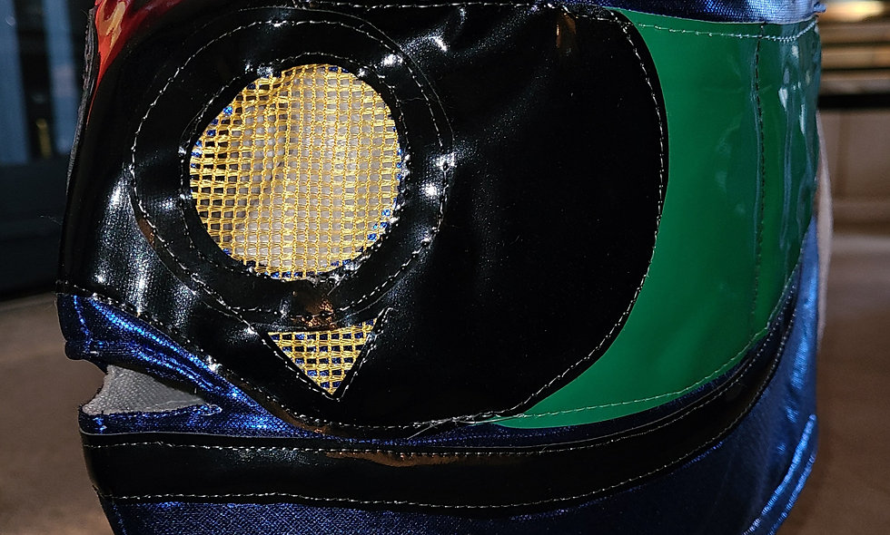 Argus -  Lucha Mask  : Chikara Shop