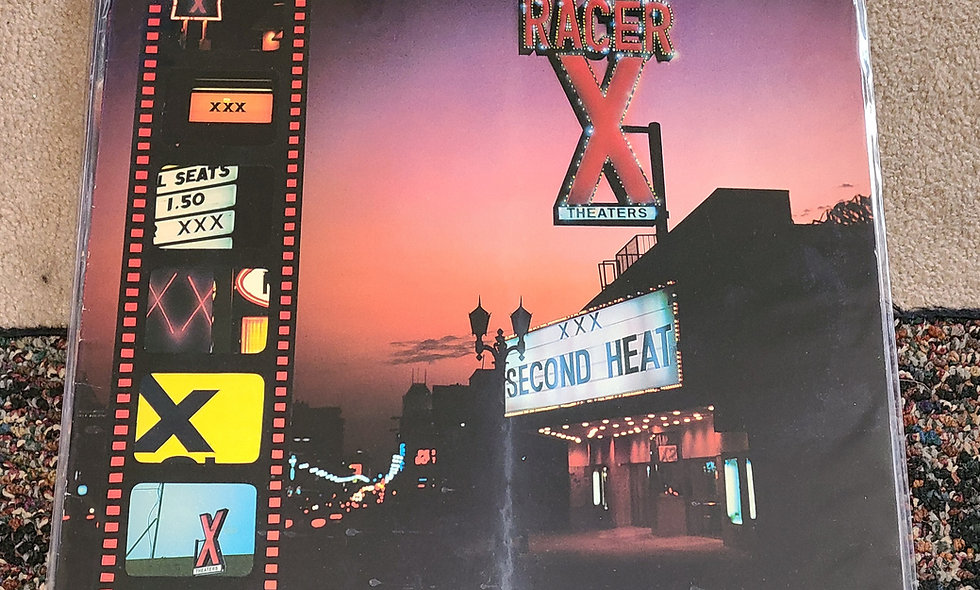 Racer X : Second Heat - Shrapnel / 1986 / Good / Metal