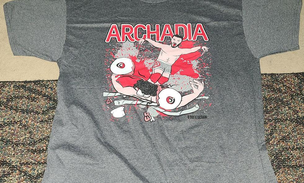 Archadia - 2x T-Shirt New - JAPW UWA Elite