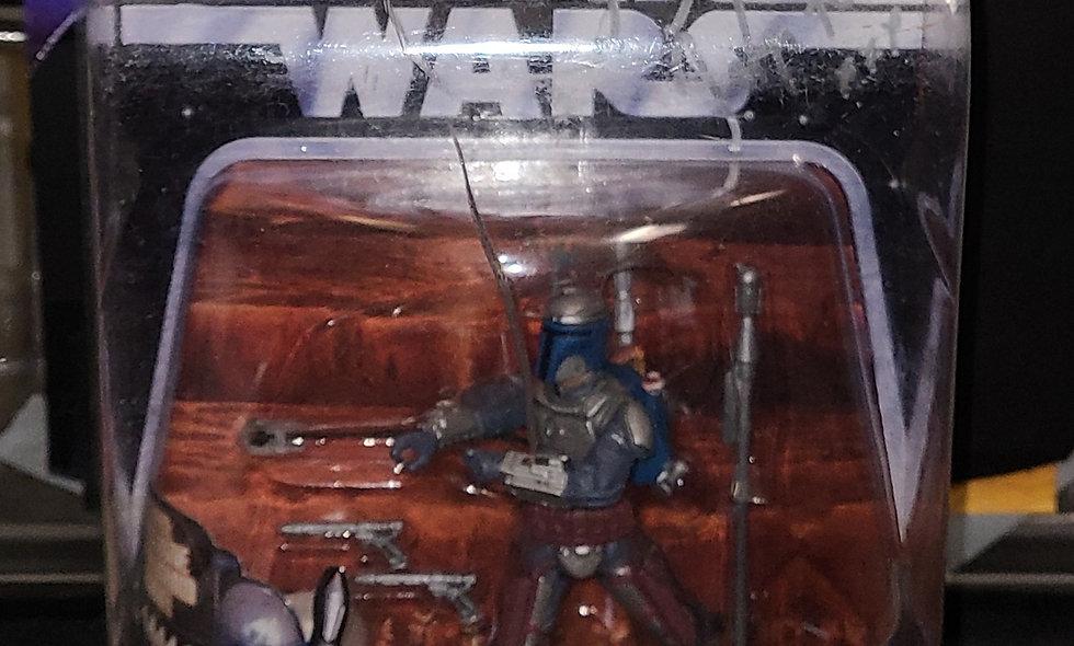 **Autographed** Jango Fett - Star Wars : The Saga Collection -  Hasbro