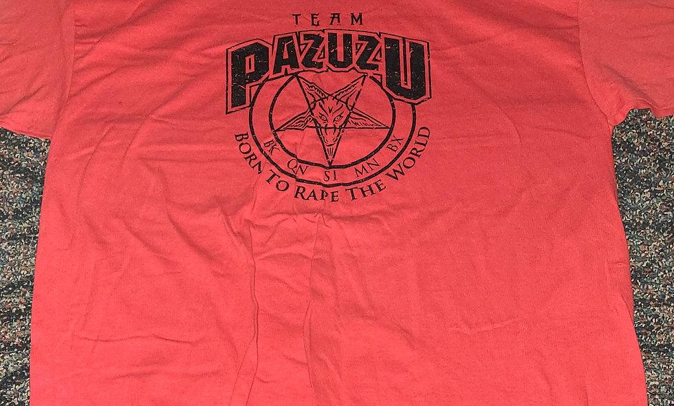 Team Pazuzu - 2x T-Shirt New - Sanchez Jaka Dickinson EYFBO
