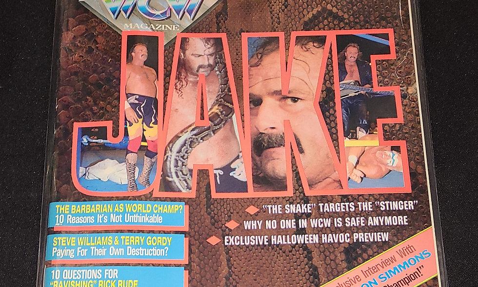 WCW Magazine  :  December 1992