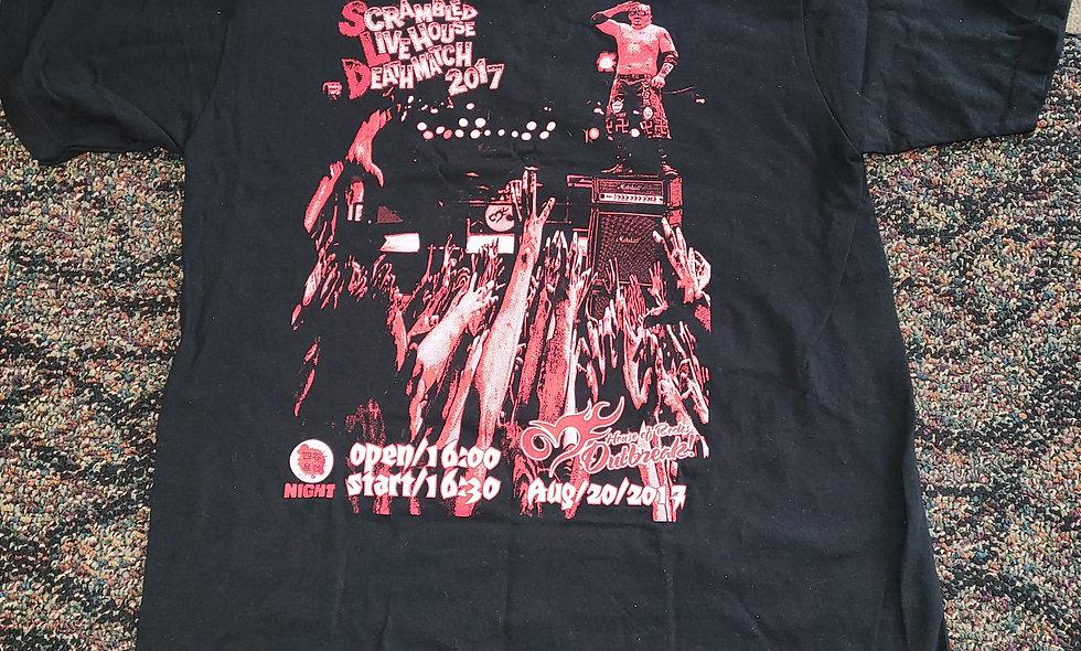 Jun Kasai T-Shirt : Scrambled Live House Deathmatch 2017 : Large