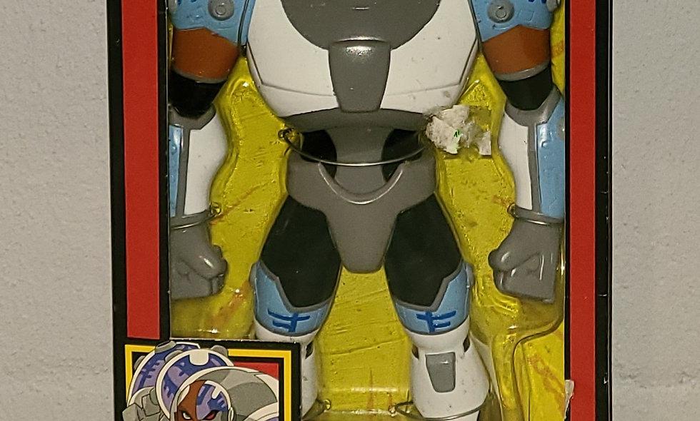 "Teen Titans - Cyborg - 10"" Figure - 2005 Bandai"