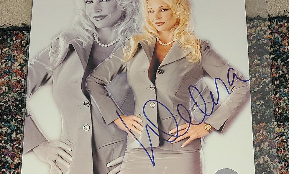 Debra McMichael - WWF / WWE - Autographed 8×10