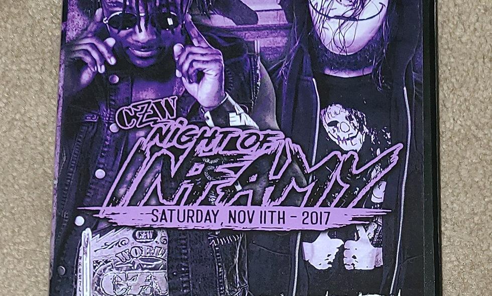CZW - Night Of Infamy : 11/11/17 - Deathmatch DVD