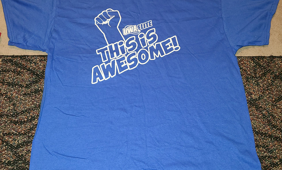 UWA Elite : This Is Awesome - T-Shirt New