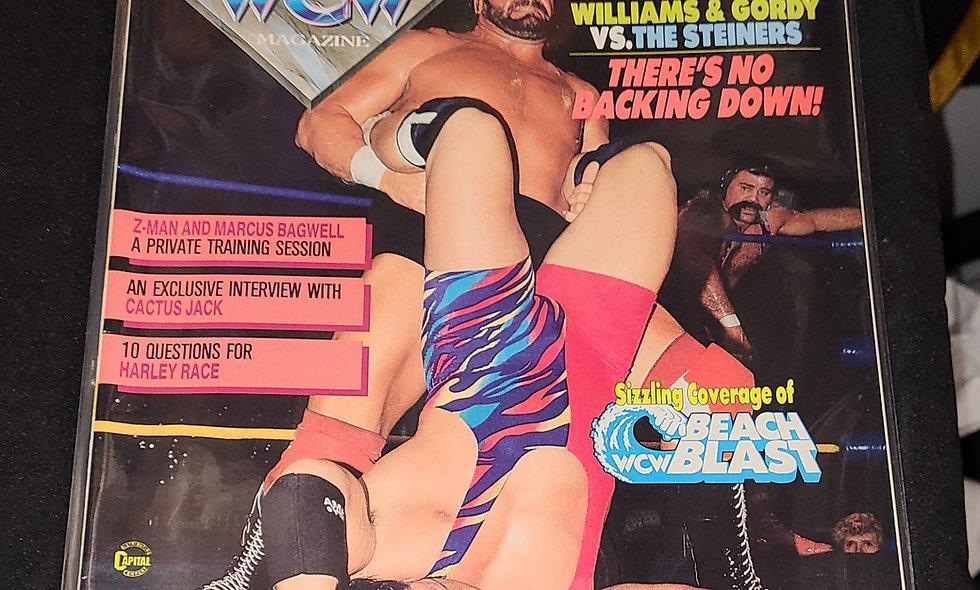 WCW Magazine  :  October 1992