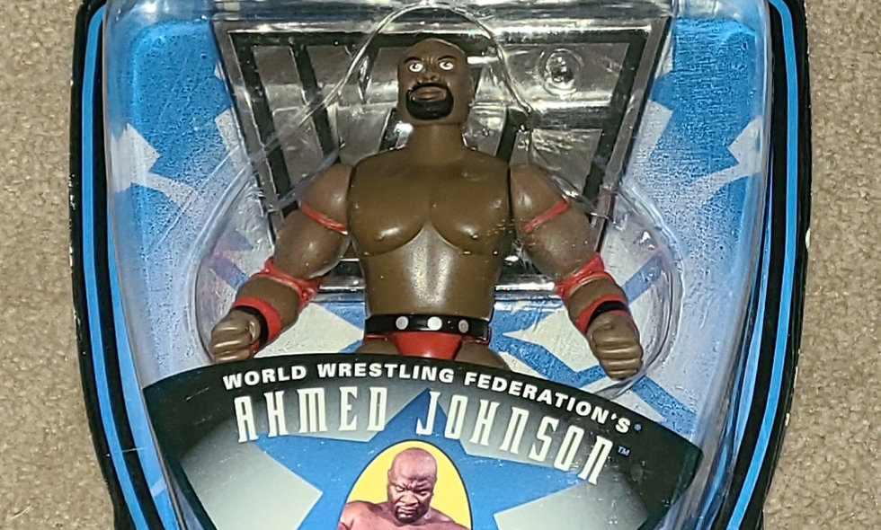WWF : Superstars : Ahmed Johnson : Series 3 - 1996 Jakks