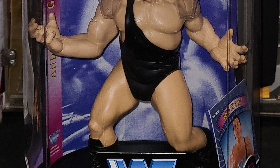 Andre The Giant - WWF Legends : Series 1 - Jakks Limited Edition