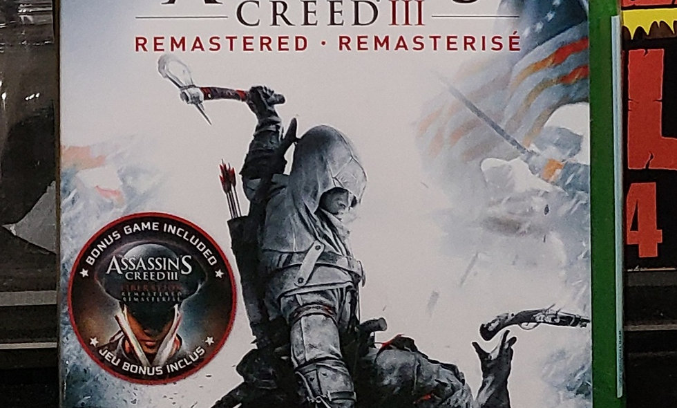 Xbox One - Assassins Creed 3 : Remastered - *NEW