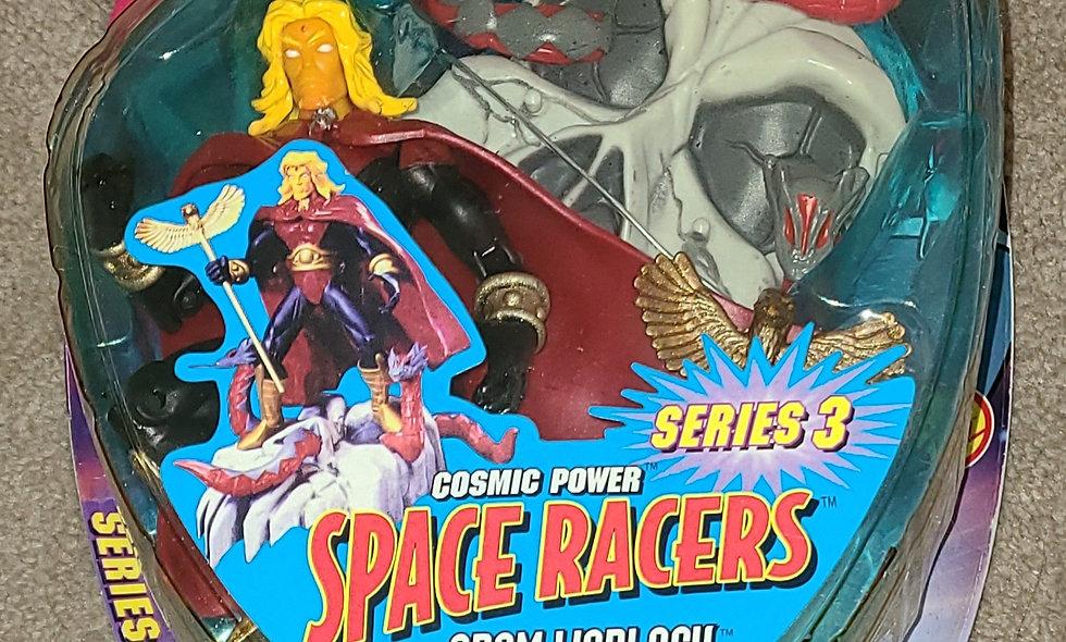 Marvel : Adam Warlock : Cosmic Power Space Racers Series 3 : Toybiz 1998
