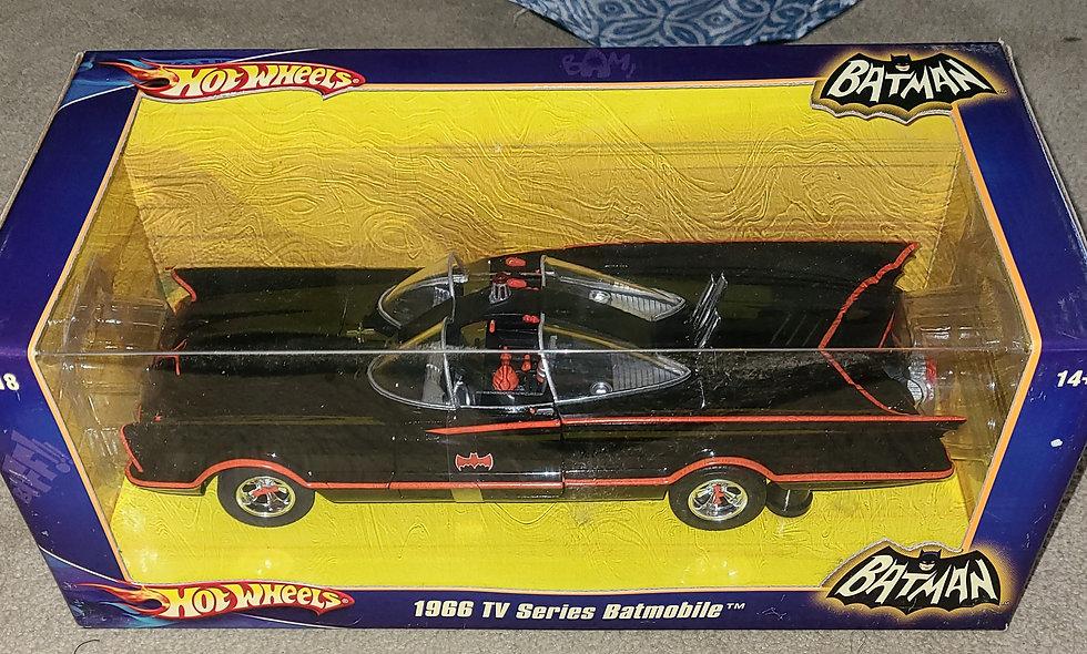 Hot Wheels : 1966 TV Series Batmobile (Preowned) : Mattel 2007